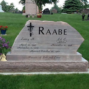 Minneapolis Granite Memorials | Galleries / Contact Details